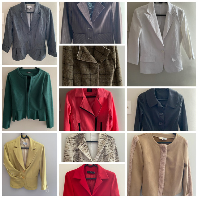Blazer feminino casaco social R$ 40 cada