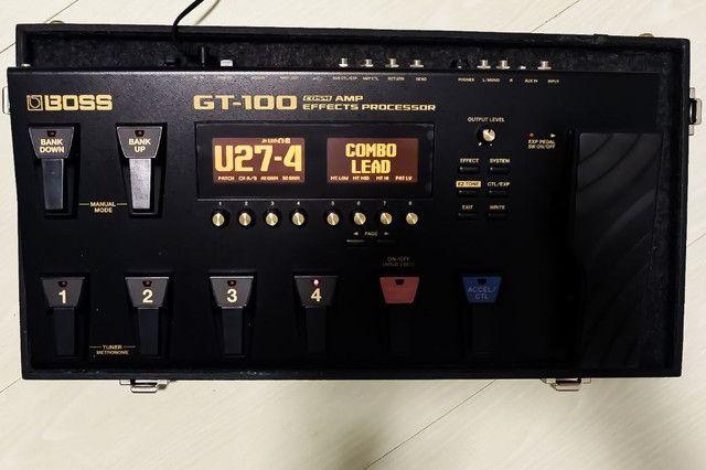 Pedaleira Boss GT100 - Foto 2