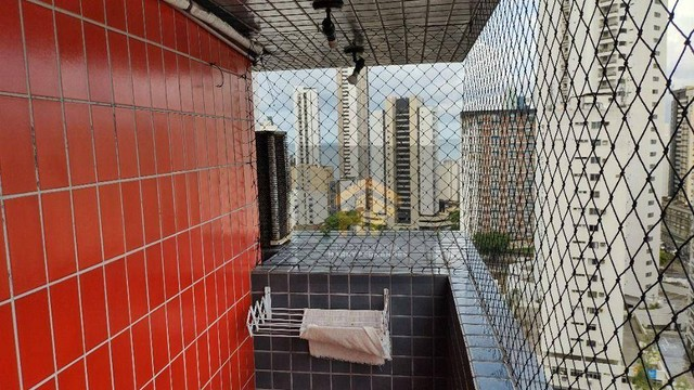 Apartamento com 01 Quarto Mobiliado com Vista pro Mar em Boa Viagem, Recife - Foto 16