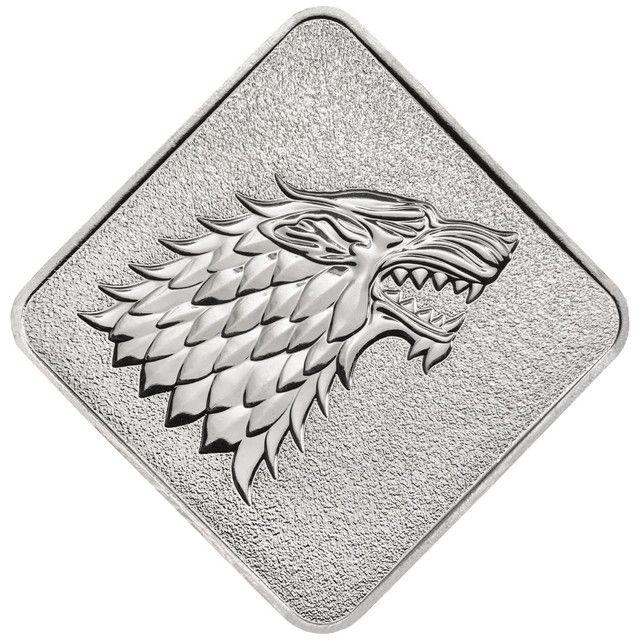 Medalha Game Of Thrones House Stark Edição Limitada - Foto 5