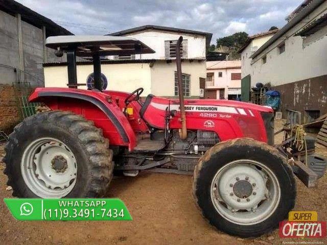Trator Massey Ferguson 4290 4x4 ano 13 - Foto 5