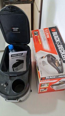 Cooler Geladeira Portatil quente frio Black & Decker 12 volts