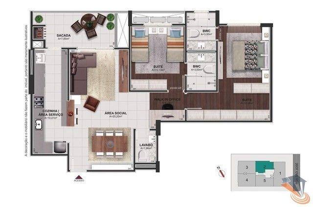 Apartamento com 2 dormitórios à venda, 91 m² por R$ 670.000,00 - Balneário - Florianópolis - Foto 18