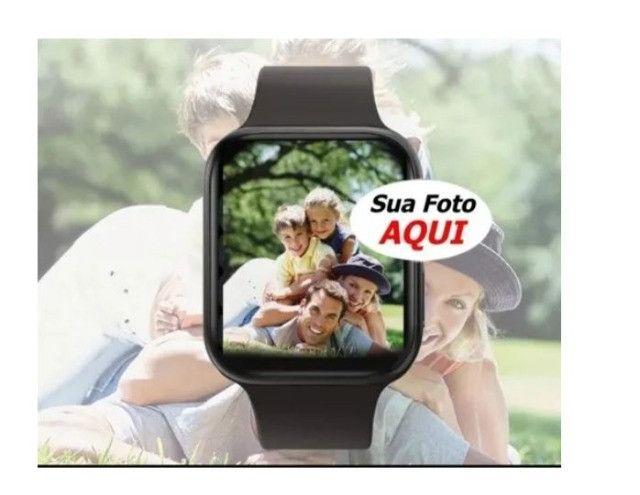 Relógio Inteligente X7 Versão Atualizada Recebe Faz Chamadas Rosa - Foto 6
