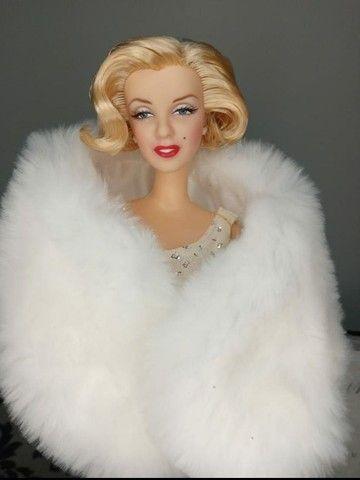Boneca Barbie Collector Marylin Monroe Hollywood Premiere - Foto 4