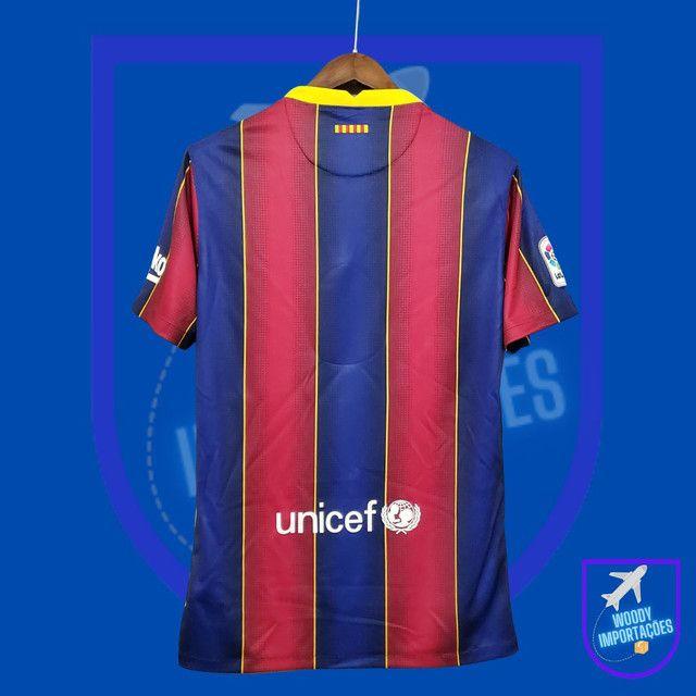 Camisa I Barcelona 2020/2021 - Foto 2
