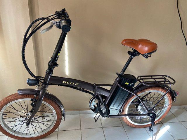 Bicicleta Elétrica Blitz Dobrável