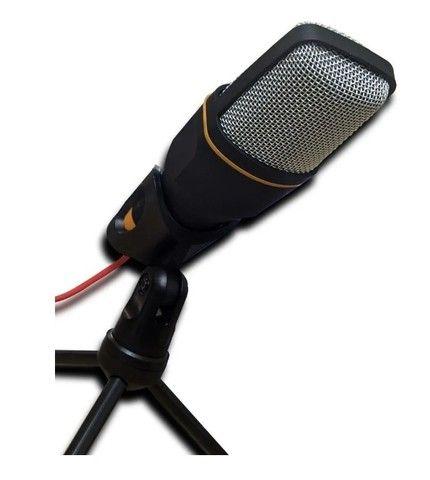 Microfone Condenser SF-666 Preto - Foto 3