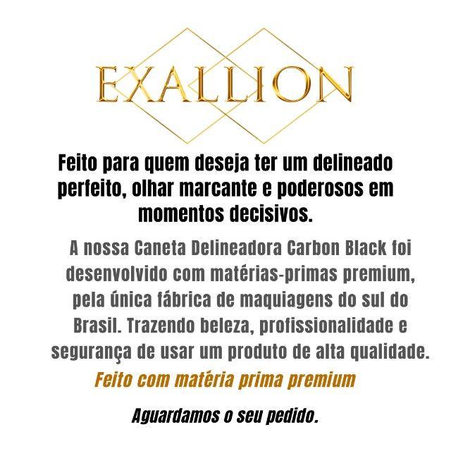 Caneta Delineadora á Prova D'água - Carbon Black - Foto 3