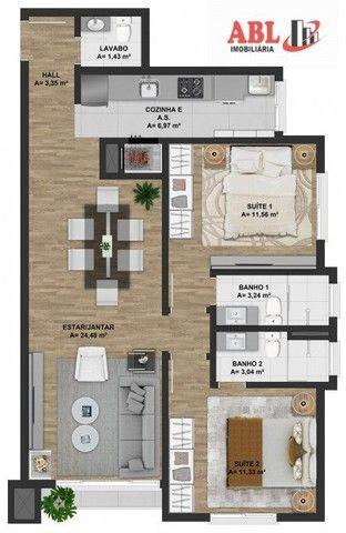 Apartamento Alto Padrão para Venda em Centro Gramado-RS - Foto 6