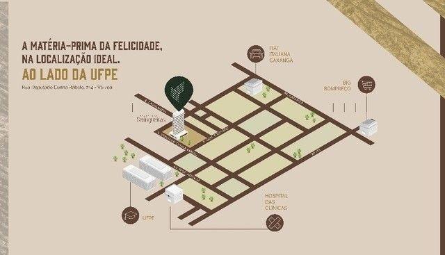 JS- Lançamento Várzea, ao lado da UFPE - 3 quartos 65-83m² | Praça das Seringueiras - Foto 13