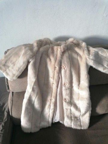 Vendo um lindo casaco coisa fina