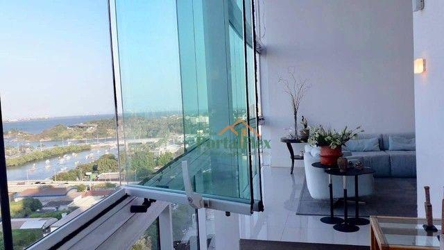 Apartamento com 4 dormitórios à venda, 180 m² por R$ 2.000.000 - Barro Vermelho - Vitória/ - Foto 3