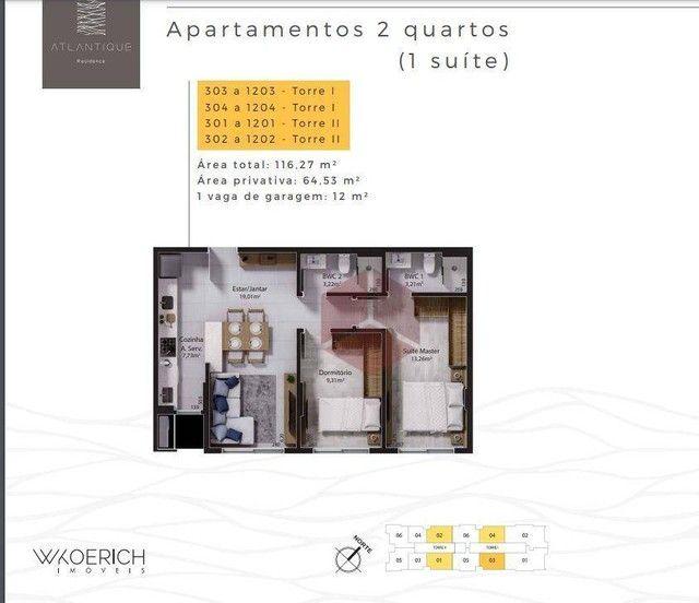 Apartamento à venda, 65 m² por R$ 714.000,00 - Balneário - Florianópolis/SC - Foto 13