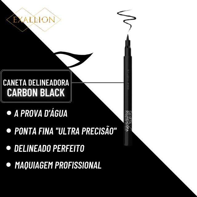 Caneta Delineadora á Prova D'água - Carbon Black - Foto 2