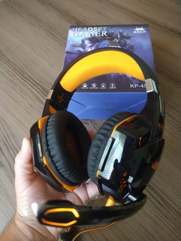Promoção - Headset Gamer Com Led - Novo - Foto 6