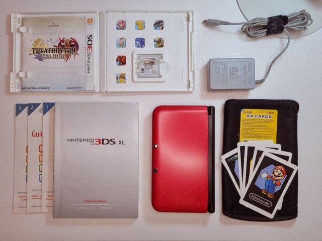 Nintendo 3DS XL + mídia física + 40 mídias digitais - Foto 6