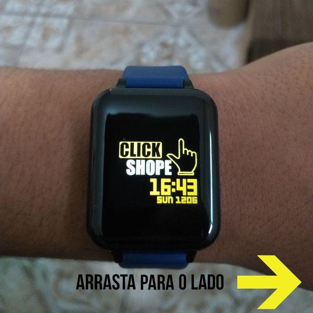 Relógio Smart Hero Band B57 aprova D'água - Foto 6