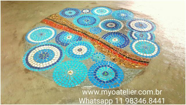 Mandala para Piso mosaico