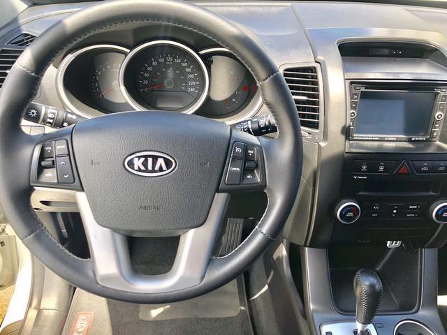 Kia SORENTO 2012 AUTOMÁTICA, COM APENAS 52.000 KMS RODADOS, ÚNICO DONO, ESTADO DE ZERO KM! - Foto 9