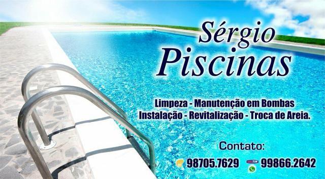 Técnico em Piscinas - Whatsapp 99866.2642