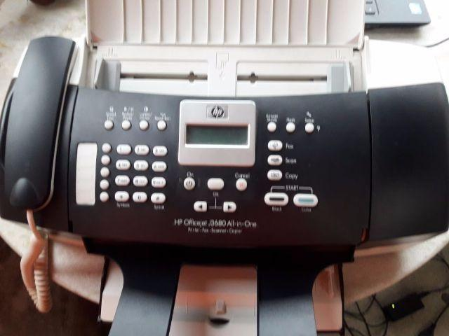 Multifuncional Hp Officejet J3680 - Impressora, fax, scanner e copiadora