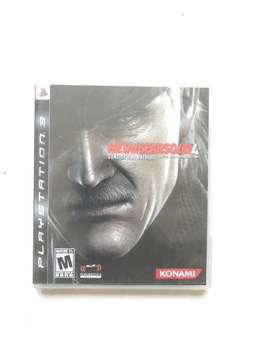 Metal gearsolid 4 PS3