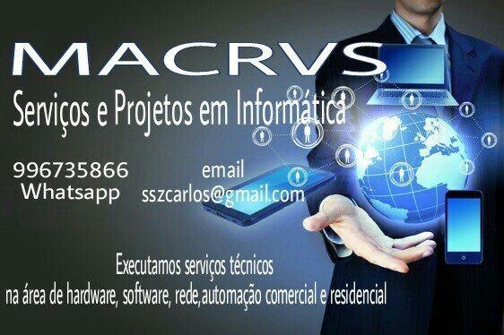 Serviços gerais em Informática/TI/Infra