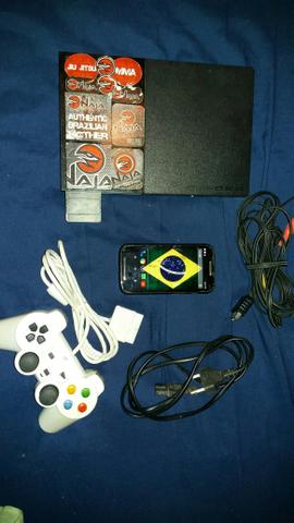 Vendo Playstation 2 .e. MOTO E Celular