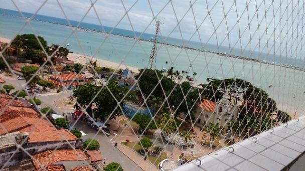 Apartamentos facilitados em até 100 meses para pagar com vista para o mar