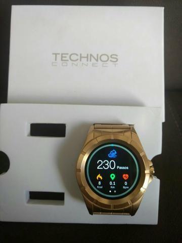 Relógio technos conect