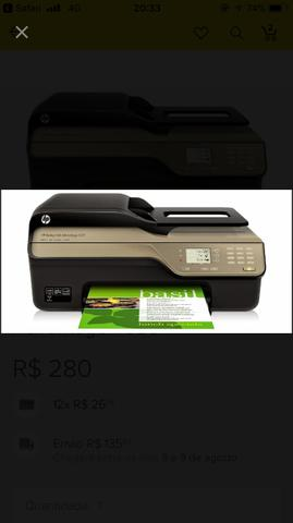 Impressora Hp Deskjet Ink Advantage 4625