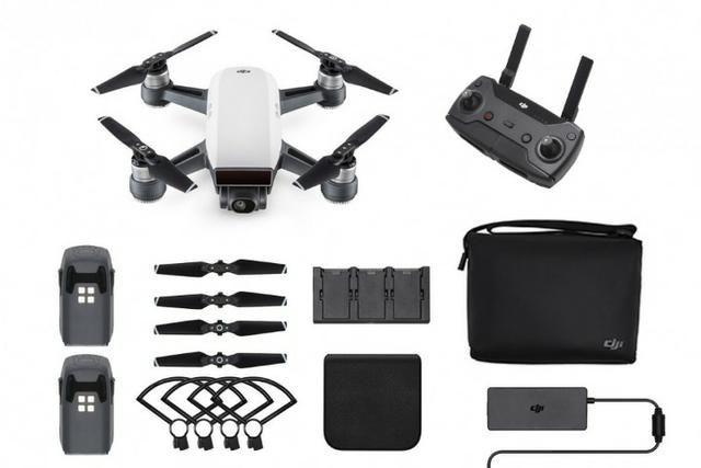 Drone Dji Spark Combo Novo
