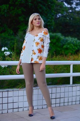 Blusa Feminina - Top de linha - Foto 2