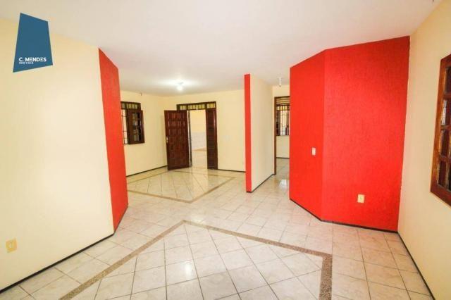 Casa com 3 dormitórios para alugar, 300 m² por R$ 2.000/mês - Cidade dos Funcionários - Fo - Foto 5