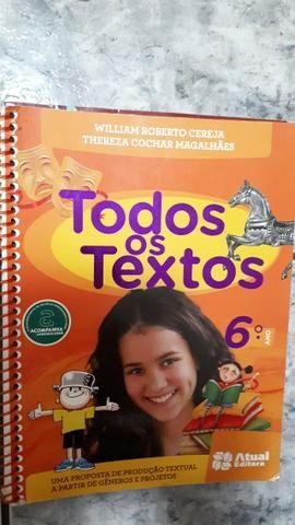 Livro Todos os Textos 6° ano