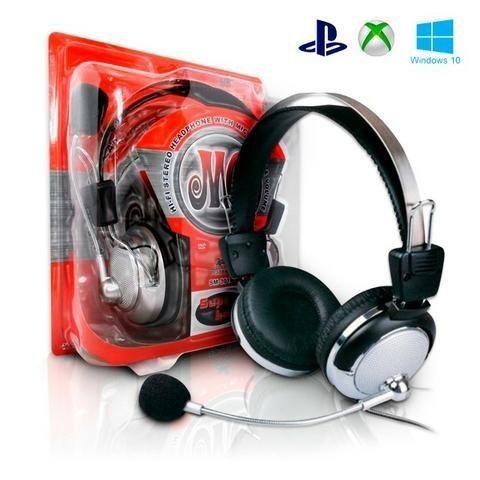 R$ 29 Fone De Ouvido Gamer C/ Microfone Ps3/ps4/pc/xbox Sm-301-mv