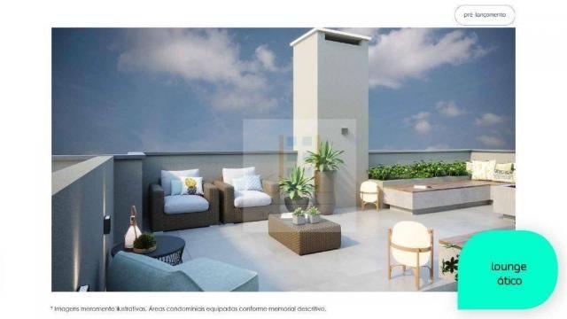 Apartamento com 2 dormitórios à venda, 48 m² - Cidade Industrial - Curitiba/PR - Foto 7