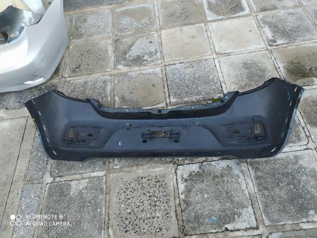 Parachoque Traseiro Renault Sandero Stepway 15 16 17 18 19 Original Usado - Foto 2