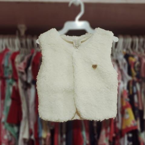 Roupas de bebe colete de pelo Pingo Lele - Artigos infantis - Vila ... 7d327cd3694ba