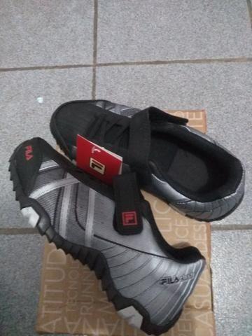Tênis Fila Slant Summer Infantil Número 32 - Roupas e calçados ... f17d1955f51