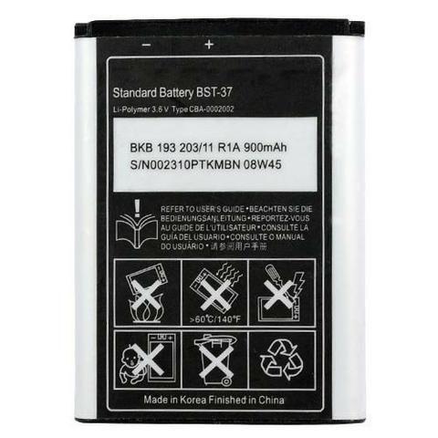 Bateria Sony Ericsson Bst-37 K750 W800 W810 W35