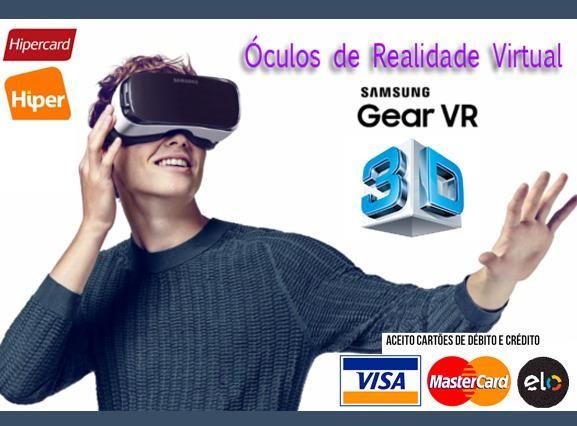 Óculos 3D Samsung Gear VR 360 Graus p  AP Samsung Galaxy A, S e Note ... eeddcec3a4