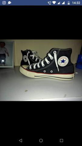 1425bafab1 Tênis ALL star converse número 34 seminovo - Roupas e calçados ...
