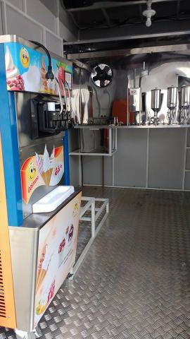 Trailer de churros e sorvete - Foto 9