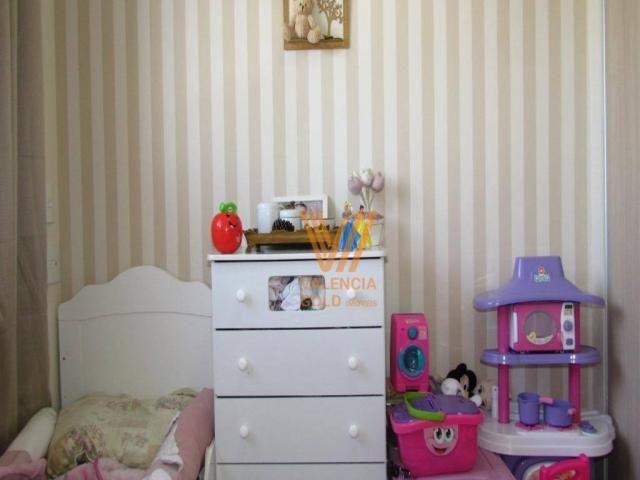 Apartamento com 3 dormitórios à venda, 64 m² por R$ 315.000,00 - Cajuru - Curitiba/PR - Foto 16