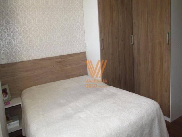 Apartamento com 3 dormitórios à venda, 64 m² por R$ 315.000,00 - Cajuru - Curitiba/PR - Foto 13