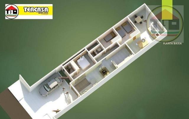 Casa com 3 dormitórios à venda, 115 m² por R$ 310.000,00 - Belo Horizonte - Marabá/PA - Foto 5