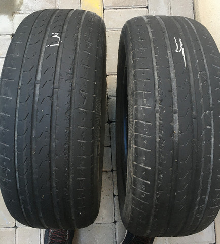 2 Pneus Aro 16 Pirelli 205/55R16 91V Cinturato P7 R$ 250,00 - Foto 3