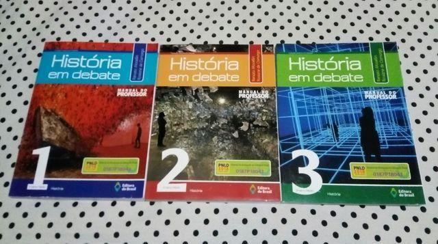 Coleção História Em Debate - Ensino Médio Completo (3 Volumes) - Pnld 2018